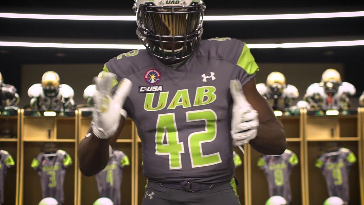 0abaa28af UAB Football Homecoming Uniform Reveal - YouTube