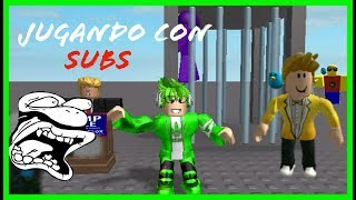 ROBLOX MOMENTS RAMDUMS AND PLAYING WITH SUBS ALV! | ROBLOX
