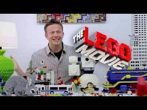 The LEGO Movie 60 second building challenge