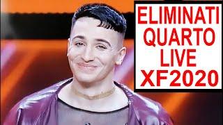 X Factor 2020 - Gli eliminati del quarto live show