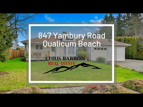 847 Yambury Road, Qualicum Beach, BC, Single Family Home For Sale In Qualicum Beach