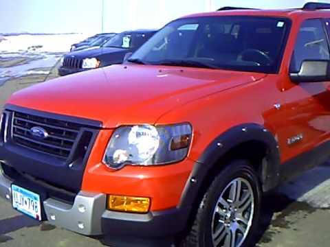 2007 Ford Explorer Iron Man Edition Youtube