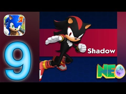 Sonic Dash 2: Sonic Boom Gameplay Walkthrough Part 9 - Shadow Unlocked (iOS, Android)