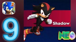 Sonic Dash 2: Sonic Boom Gameplay Walkthrough Part 9 - Shadow Unlocked (iOS, Android) screenshot 5