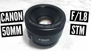 Canon 50MM f/1.8 STM Lens | UNBOXING & VIDEO TEST w/ T6i(D E T E S ↓ Hey guys! So this is another unboxing video of the Canon EF-S 50mm f/ 1.8 STM lens. In this video I will be showing you what comes in the box as ..., 2016-06-20T15:29:45.000Z)