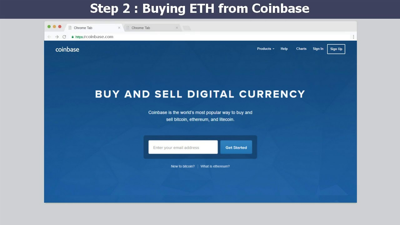 can i buy ethereum on coinbase
