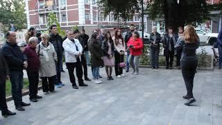 Саратовские армяне почтили память Шарля Азнавура