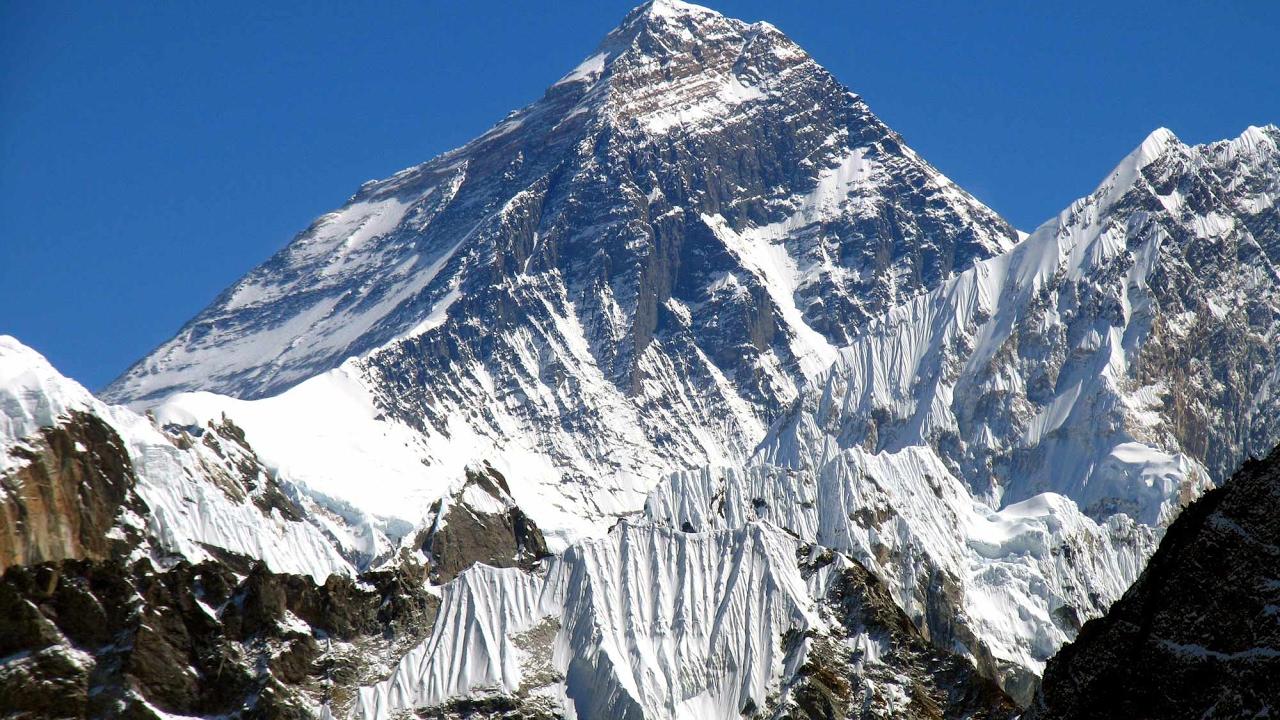 фото эвереста с вершины