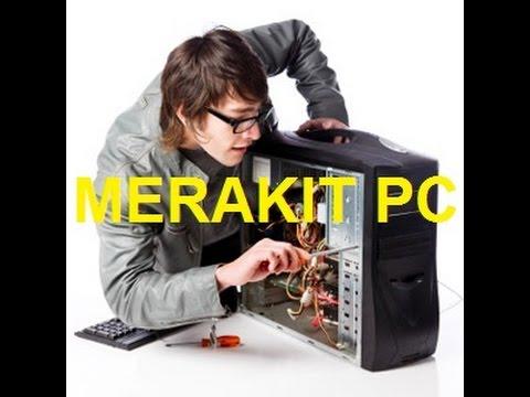 Belajar cara Merakit PC komputer dengan baik dan benar spek tinggi #KOMPUTEK