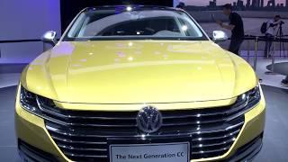 VW Next Generation CC at the Auto China Beijing 2018 | CarZilla