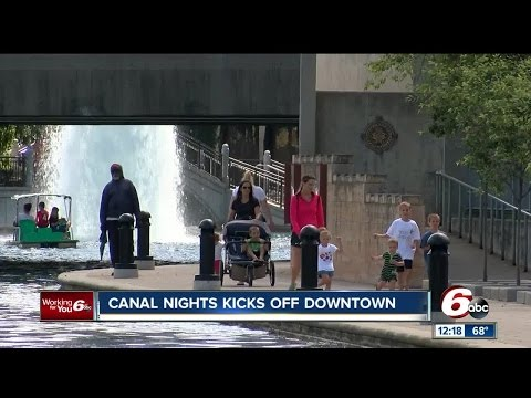 Indiana State Museum Canal Nights kicks off in downtown Indianapolis Wednesday