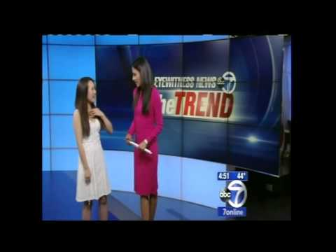 """Grace Lee On Eyewitness News  ABC - Frozen """"Let It Go"""""""
