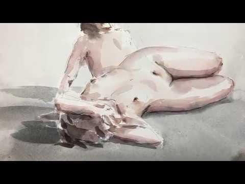 Nøgne modeller til kunst