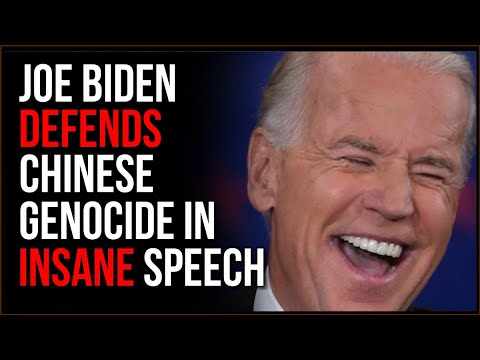 Biden DEFENDS Brutal Chinese Ethnic Cleansing As 'Part Of Their CULTURE' In INSANE Town Ha