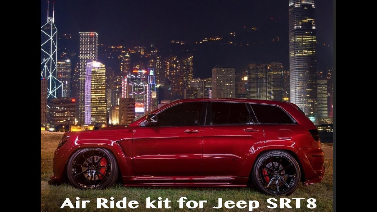 Durango Srt 2015 >> Jeep TrackHawk Air Ride Suspension Kit - Jeep SRT Air Ride Suspension Kit - How To - YouTube