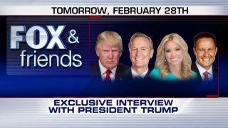 Sneak peek at 'Fox & Friends' exclusive interview with Trump
