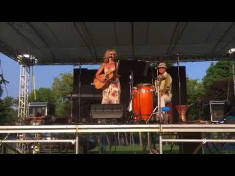 """Christie Ray Original- """"Hold Onto Me Tonight"""" Live at the Balloon Festival in Auburn Maine"""