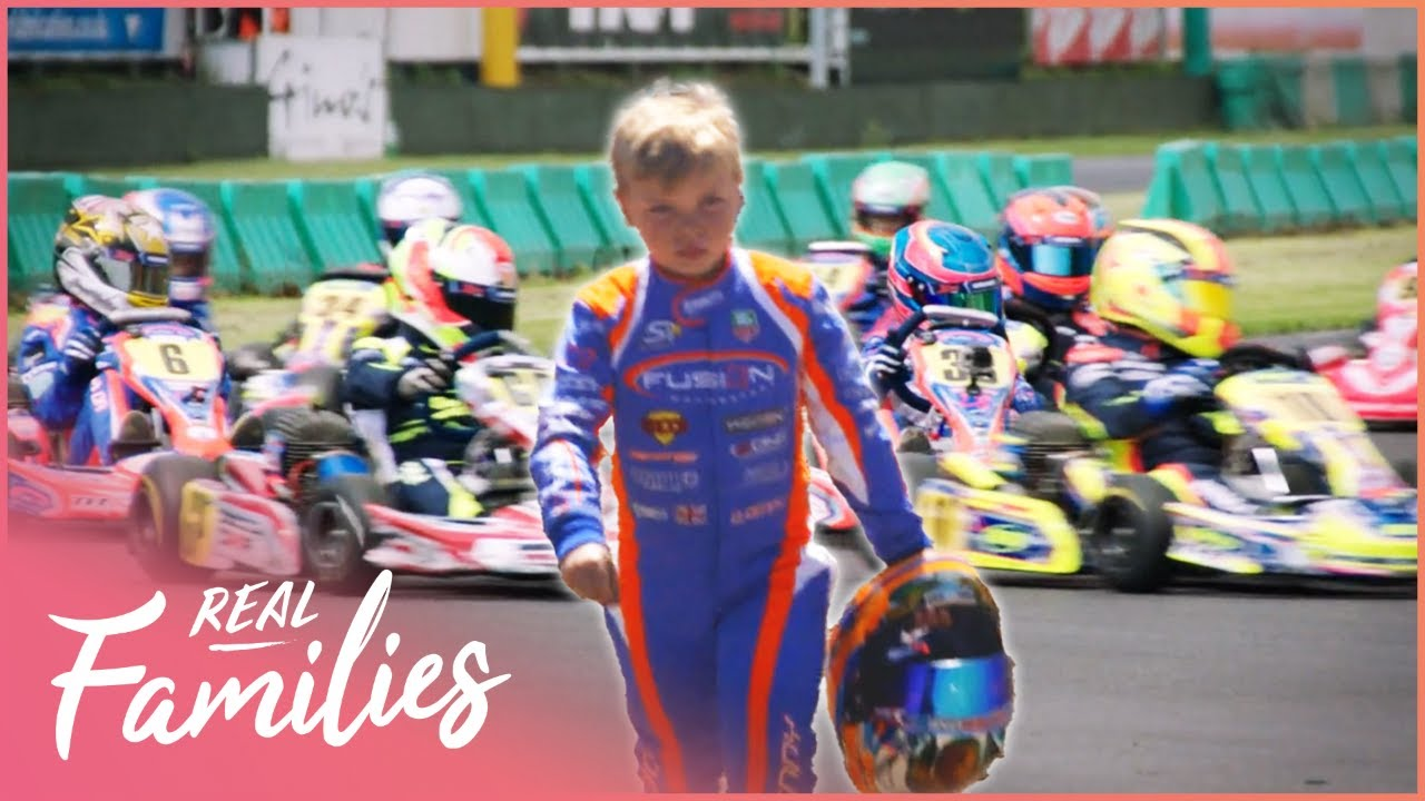 The Full Throttle Lives Of Young Race Car Drivers | Whizz Kids | Real Families with Foxy Games
