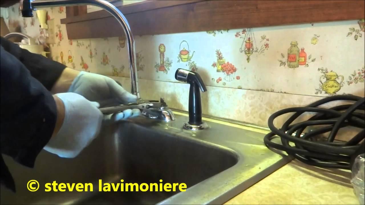 Kitchen Faucet Making Strange Noise - YouTube