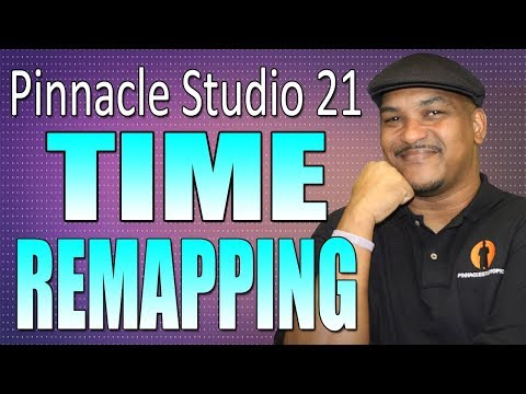 Pinnacle Studio 21 Ultimate   Time Remapping - Slow Motion Tutorial