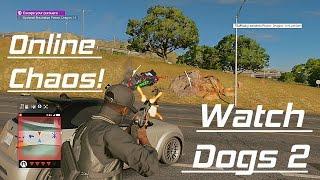 Hacking Invasion Expert! Bounty Hunter Scrub - Watch Dogs 2 Online Multiplayer Gameplay