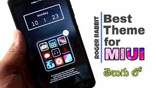 Best Theme for miui , Best Redmi themes Miui 9.5 In telugu