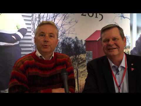 Odd Omland og Knut Storberget om landbrukspolitikken
