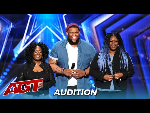 Resound: Amazing Siging Trio Gets STANDING OVEATION From Simon Cowell