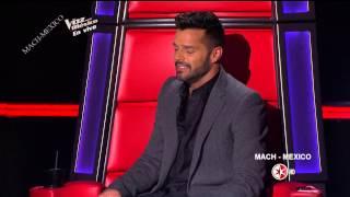 Ricky Martin en La Voz Mexico 4  Programa 15 Final