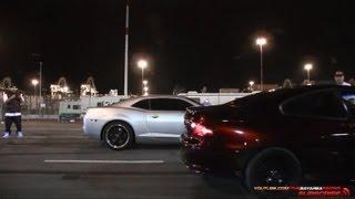 Camaro SS vs GTO