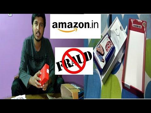 AMAZON INDIA fraud : LOST Rs 9000, Lifebuoy soap in MI REDMI Y1 32 gb packet