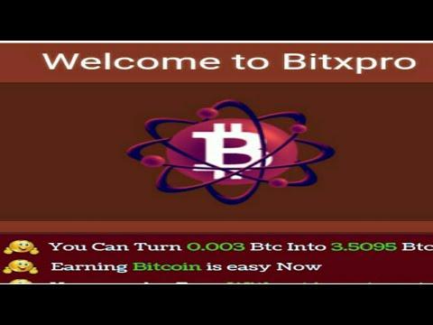 Bitxpro (full plan) Free Bitcoin earn, New lounch 2017  BY Royal