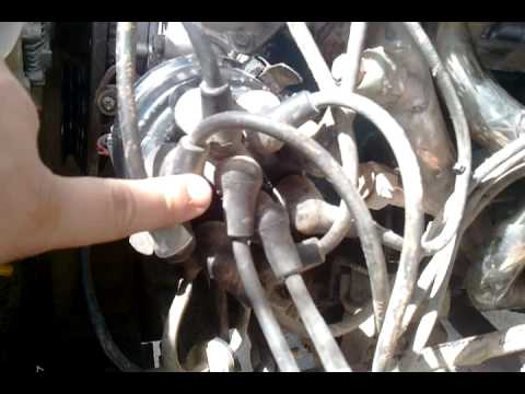 distributor cap alignment n spark plug wire order