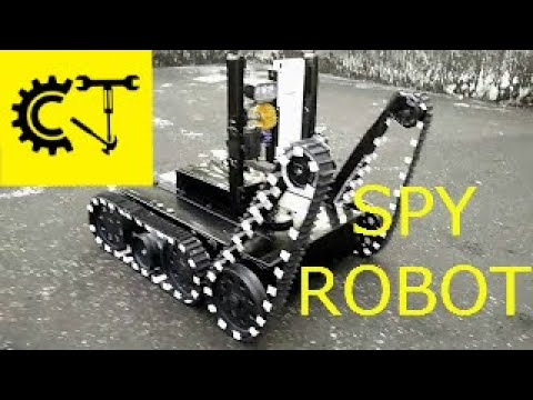 DIY  Spy Robot/MILITARY UGV (UNMANNED GROUND VEHICLE)