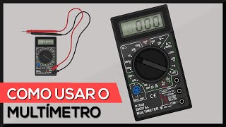 Como usar o multímetro digital - utilizando todas as escalas (testes + medições) thumbnail