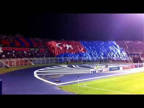 JDT vs PKNS - Lagu negeri Johor