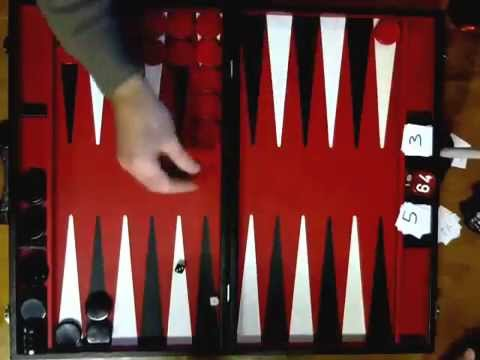 Bob Bruce v Sean Thomas Backgammon Match 17 10 15
