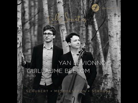 EPK Cello Sonatas - Yan Levionnois, cello - Guillaume Bellom, piano