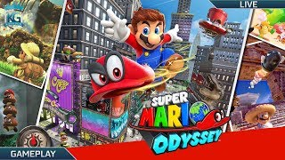 Super Mario Odyssey ! - Part 1 - 100% Run?! Let's Start!
