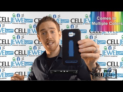 Phone Accessory Review: Blu Dash 5.0 Rugged Hybrid With Kickstand - CellJewel.com