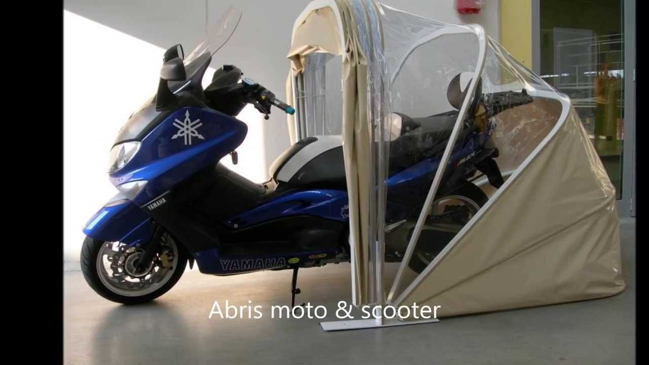 abri protection moto scooter multi usages abris karacol s youtube. Black Bedroom Furniture Sets. Home Design Ideas