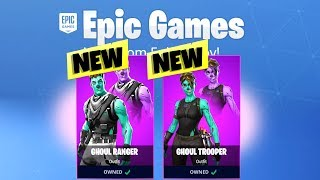 FINALLY... Fortnite GHOUL TROOPER SKIN EVENT - FREE SKIN UPGRADE