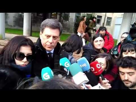 Valeria y Juan Carlos Quer, en la tercera sesión del juicio por el crimen de Diana