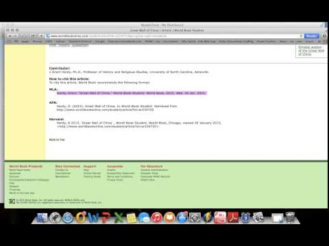 How to Copy and Paste a Citation to Noodle Tools