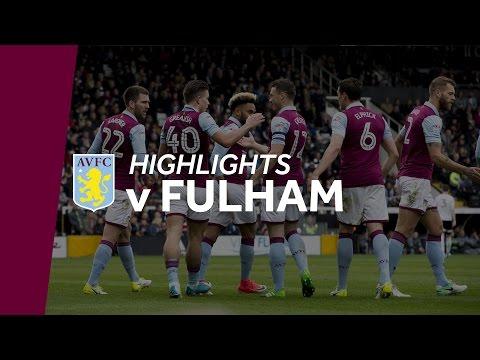 Fulham 3-1 Aston Villa | Highlights
