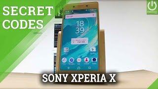 Codes SONY Xperia X - Secret Menu / Hidden Mode / Tricks