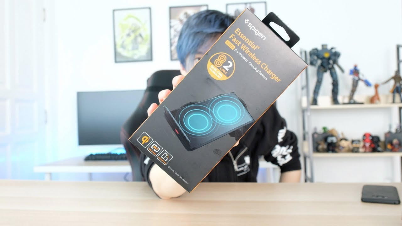 competitive price dadeb 09d3c Spigen F303W Wireless Charger Unboxing and Review