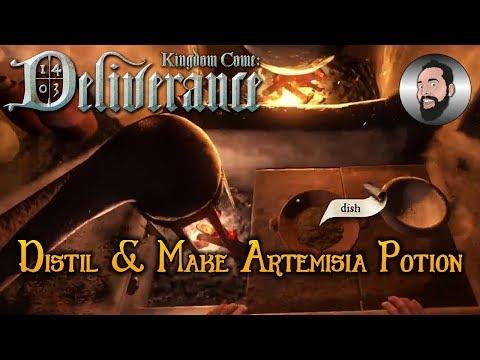 Distil & Make Artemisia Potion   Kingdom Come: Deliverance