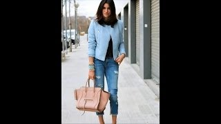 How to Wear Cute Baby Blue Outfits - New Fashion Color Trend