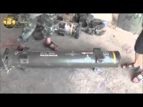Deutsche Panzerabwehrraketen im Besitz von IS/ISIS